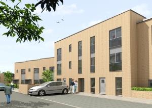 Artists impression of Gracemount development