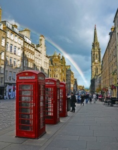 Royal Mile view - courtesy of duncan harris
