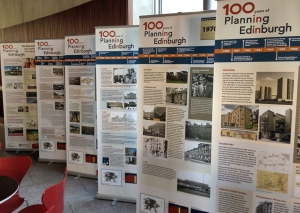 100 Years of Planning Exhibition at the Usher Hall