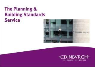 Planning and Building Standards leaflet