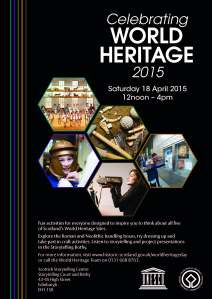 World Heritage Site day poster