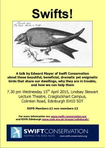Swift conservation talk