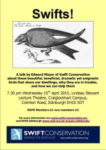 Swift conservation talk