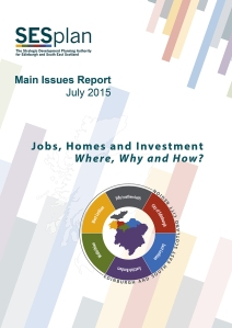 SESplan Main Issues Report July 2015