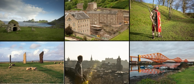 The six World Heritage Sites in Scotland