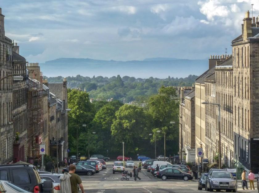 Dublin Street - view to Fife