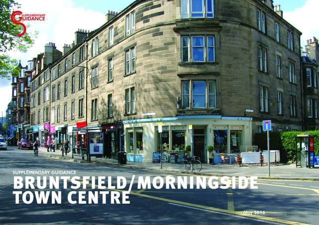 Bruntsfield/Morningside town centre planning guidance