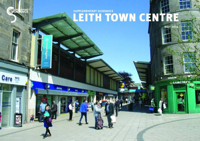 Leith town centre planning guidance