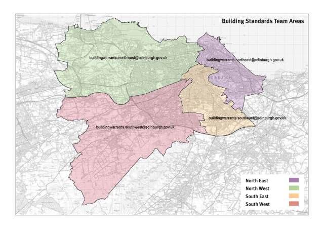 Building Standards team boundaries