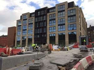 New Waverley building site