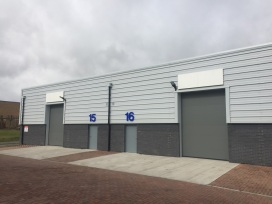 Recently completed units, Cuiltins Road