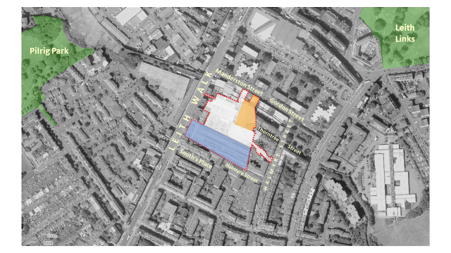 Leith Walk site analysis location 2